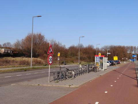 Bushalte Stationsweg Hoek van Holland